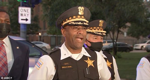 'I'm here to bring you some news; some news that we are tired of hearing,' Deputy Chief Ernest Cato said during a press briefing Wednesday night