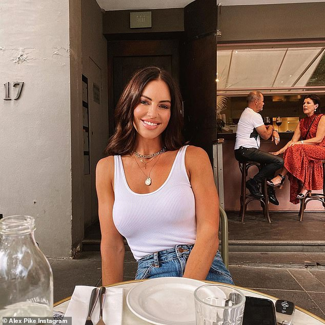 Health: Nathan Buckley's girlfriend Alex Pike, 44, has claimed that ageing is 'abnormal' after sharing her secrets to looking youthful