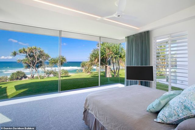 The lavish property boasts four bedrooms and is believed to have been snapped up by mining magnate Gina Rinehart