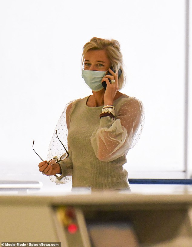 Controversial: His arrival in the country comes just days after another Big Brother contestant, Katie Hopkins (pictured), was deported for threatening to break quarantine rules