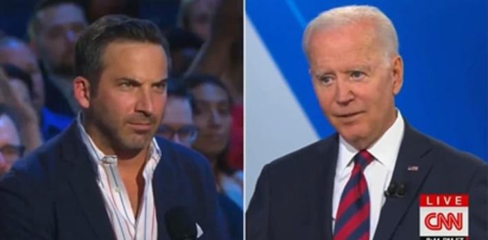 John Lanni, the co-owner of a restaurant group that has 39 venues across the country, on Wednesday night asked Joe Biden what the president could do to try and help him find more staff for his restaurants. Biden replied that wages needed to go up