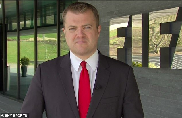 Swanson will trade his on-camera role for a new job as FIFA's Director of Media Relations
