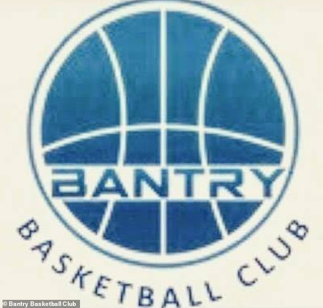 Close ties: The 30-year-old model has spent much of her summers in County Cork, as her father John owns a house in Bantry (see basketball club logo)