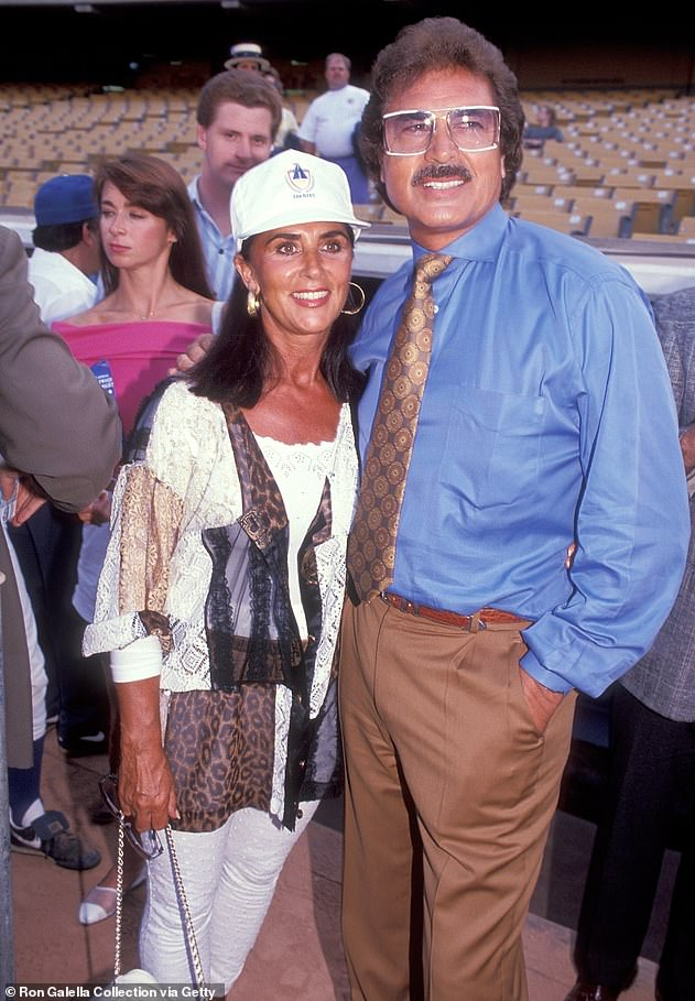 Throwback: Engelbert has often talked about Patricia's Alzheimer's since she was diagnosed over a decade ago (pictured in 1991)