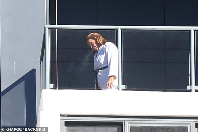 New gig: Caitlyn is set to star on Seven's Big Brother VIP after arriving in Australia last week and being taken into mandatory hotel quarantine