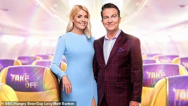 New series: The TV presenter takes a break from her work on This Morning but is expected to appear on The One Show on Thursday to promote her new show Take Off with Bradley Walsh