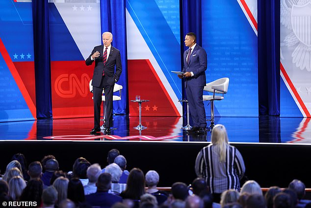 CNN's Don Lemon, right, asked how the parties can unite amid constant clashes and the rise of partisanship