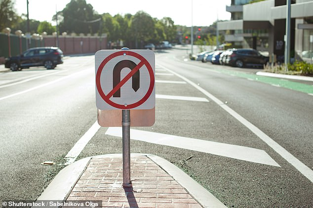 In every state except Victoria it is against the law to make a U-turn at a traffic light