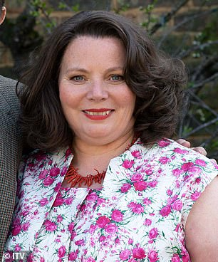Matriarch: Among the cast is Joanna Scanlan, 59, who takes over from Pam Ferris as Pop's wife Ma Larkin