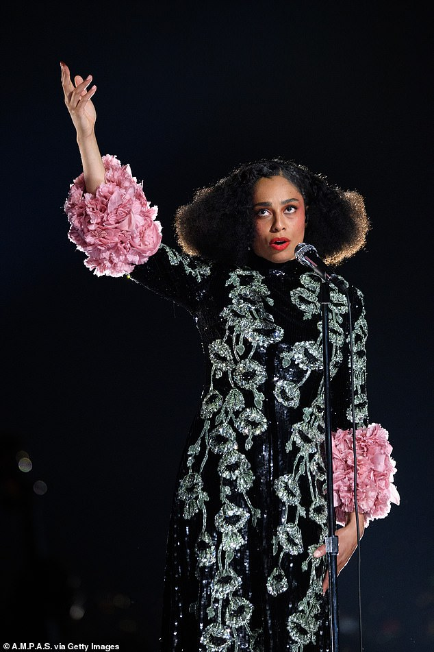 Nominees: Celeste (pictured in April) and Arlo Parks led the stars shortlisted for Hyundai Mercury Prize's Album Of The Year award, which was announced on Thursday