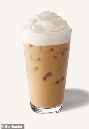 Starbucks Iced White Chocolate Mocha