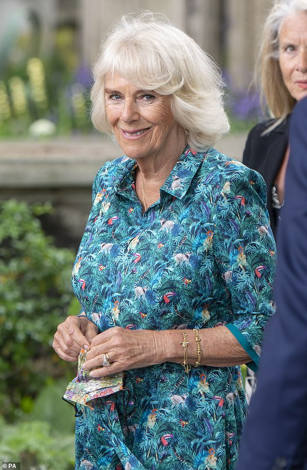 The royal had originally donned the colorful dress during a visit to the London Garden Museum on June 10, 2021. (pictured)
