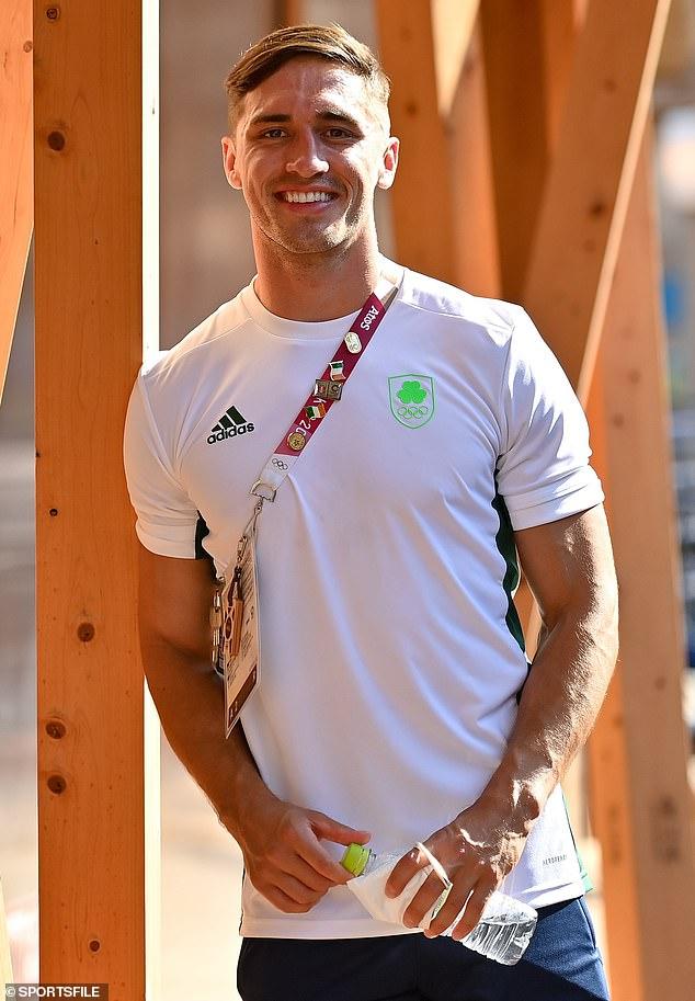 Olympiër: Voormalig Love Island-winnaar Greg O'Shea is geland in Japan terwijl hij zich voorbereidt om Ierland te vertegenwoordigen in de rugby sevens op de Olympische Spelen van 2020 in Tokio