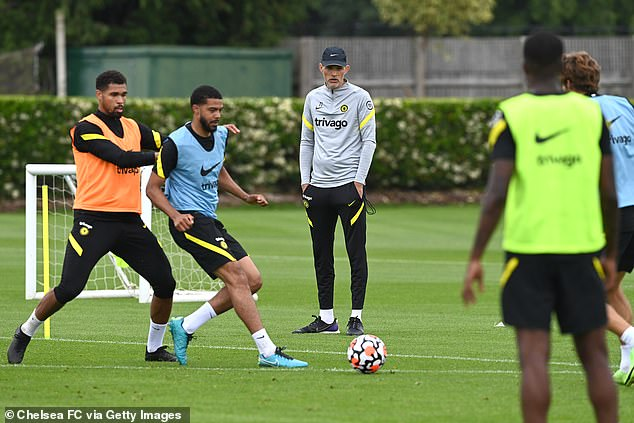 What message would his arrival send to the young players looking to impress Thomas Tuchel?