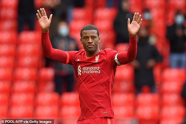Wijnaldum landed a moving final at Liverpool after his five-year term came to an end