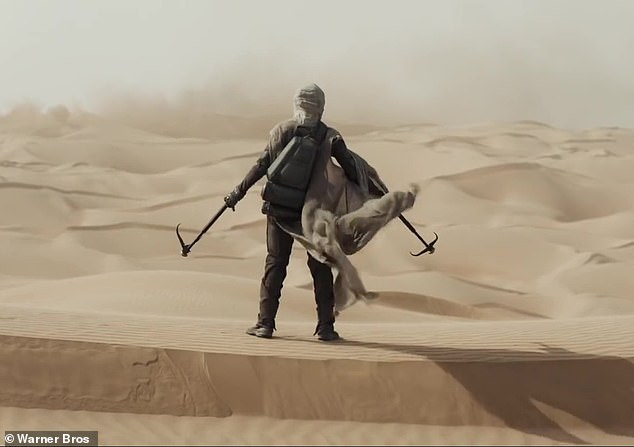 They need it: While the desert planet is sparsely populated and filled with deadly creatures (as teased in the preview above), it's also very important