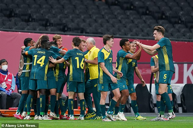 The Olyroos' next game on Sunday is against Spain, which was held to a goalless draw by Egypt in their opener