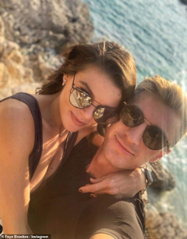 Futiue plans: Faye revealed in February her and Joe's plans to get married and have children as she declared he was the 'best cheerleader' when she appeared on Dancing On Ice