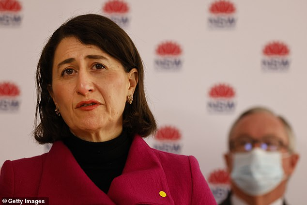 The New South Wales Prime Minister had previously said 'green shoots' had begun to appear in the state's fight against the virus, but cases continue to grow and Greater Sydney is in the middle of its fourth week of lockdown with no end in sight