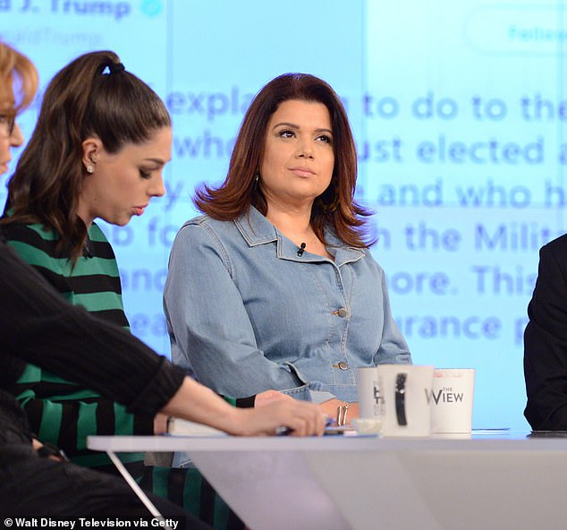 Tension is also mounting as hostess Ana Navarro compete for a permanent seat, but the insider claims she won't get it