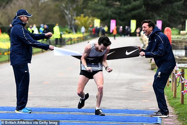 Chris Thompson, 40, will compete in Tokyo 2020 after winning UK marathon trials