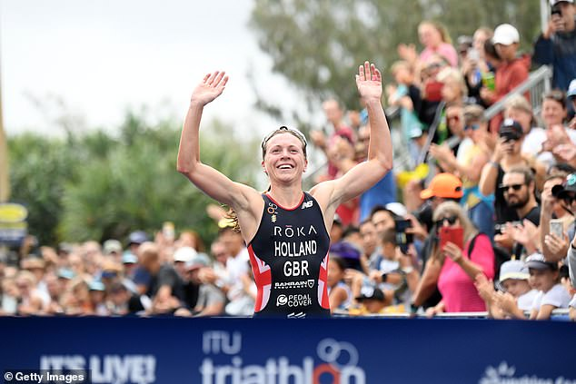 Vicky Holland became Britain's first female Olympic medalist in triathlon with bronze in Rio