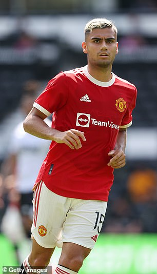 Andreas Pereira is tired of limited opportunities at Manchester United