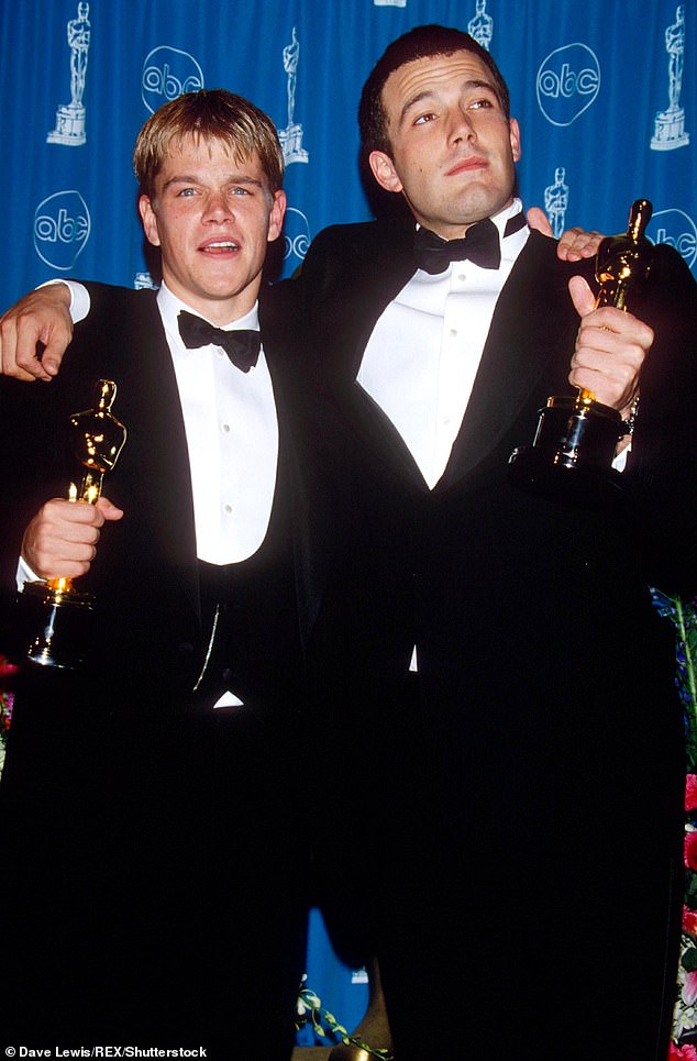 They got gold: Stars won an Oscar for their writing on Good Will Hunting
