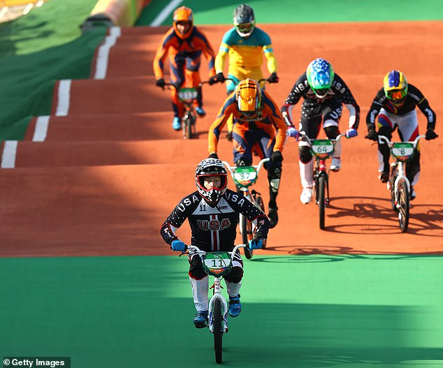 Connor Fields won America's first-ever BMX Olympic gold medal five years ago in Rio