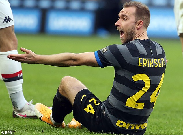 Eriksen plays for an Italian club that has strict rules for players who play sports after heart problems