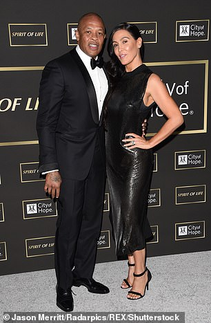 One more step: The multi-million dollar spousal support ends the latest chapter in the bitter divorce drama in which the couple has so far feuded over finances, trade allegations of abuse and fraud, and disputed the existence of their prenuptial agreement;  seen in 2018