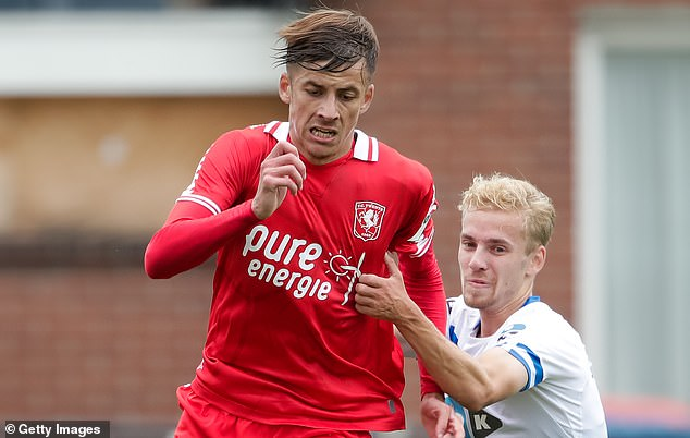 Ilic's brother Luka (left) has already re-joined FC Twente on loan from City this summer