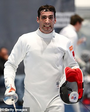 Alen Hadzic, 29, a deputy for the US swordsman fencing team, wants restrictions on his movements in Tokyo to be lifted
