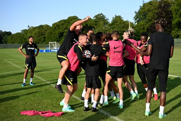 Chelsea's training camp degenerated into chaos after Thomas Tuchel's hilarious training match