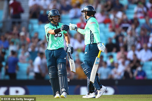 England stars Sam Curran (left) and Jason Roy (right) were sacked in the power play
