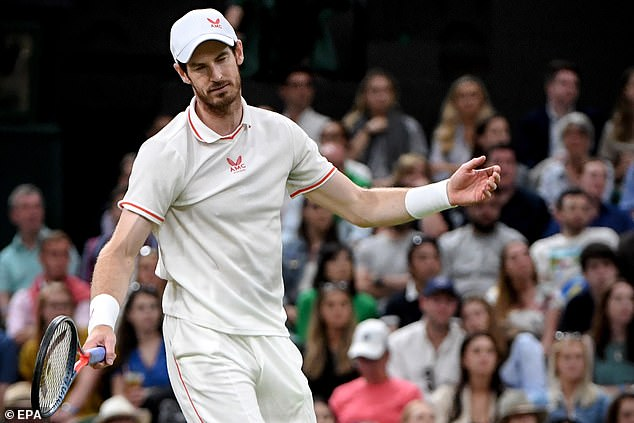 Murray is desperate to silence his doubters after crashing into Wimbledon in the third round ronde