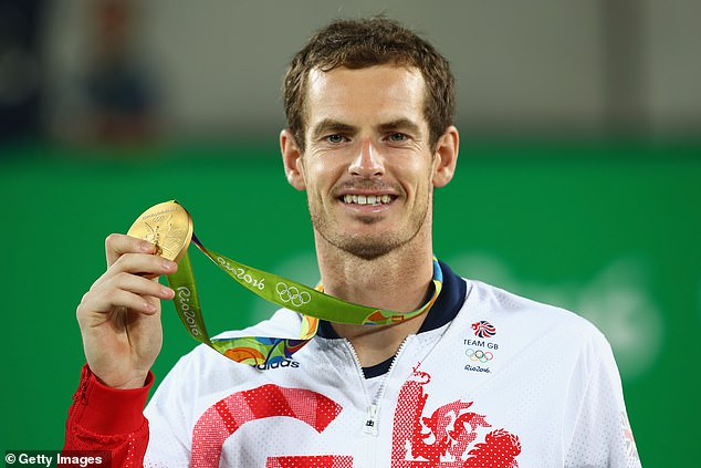 Murray retained Olympic gold in Rio five years ago - also in London in 2012