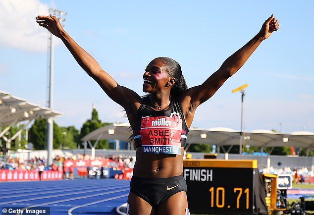 Dina Asher-Smith defended athletes' rights to protest racism at Tokyo Games