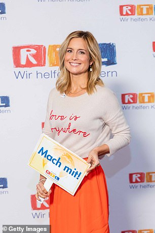 Ohlen attends the 25th RTL Telethon on November 20, 2020in Huerth, Germany