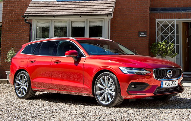 Space for everyone: Volvo¿s bestselling V60 estate (from £34,870) is a stylish alternative to a hulking great SUV