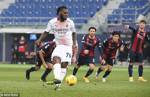 Liverpool are interested in a move to AC Milan midfielder Franck Kessie, according to reports