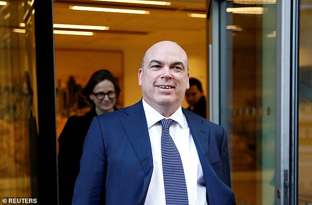 Mike Lynch (pictured) is accused of cooking the books at his former firm before it was sold to US firm Hewlett-Packard for £8billion in 2011