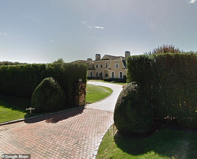 Packer's claims no construction was done on his home in Water Mill, South Hampton (pictured) for months after he signed a contract and gave Century a down payment