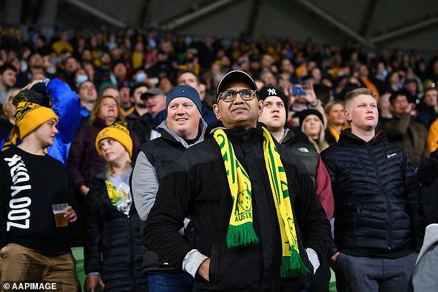 As many as a third of all people labeled as close contacts by the Victorian government have yet to be tested (Photo: Wallabies vs France at AAMI Park on July 13)