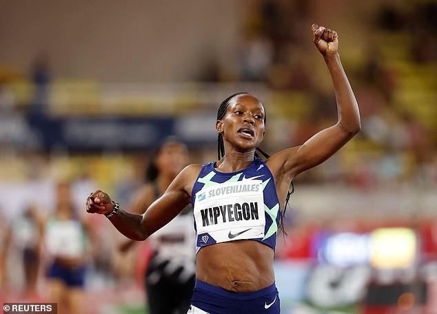 Olympic champion Faith Kipyegon's run in Monaco in 2016 was astonishingly complete