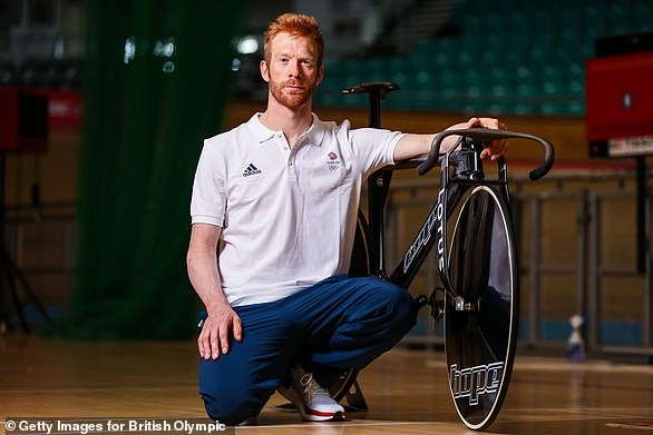 Ed Clancy is part of the men's team pursuit quartet in cycling this summer