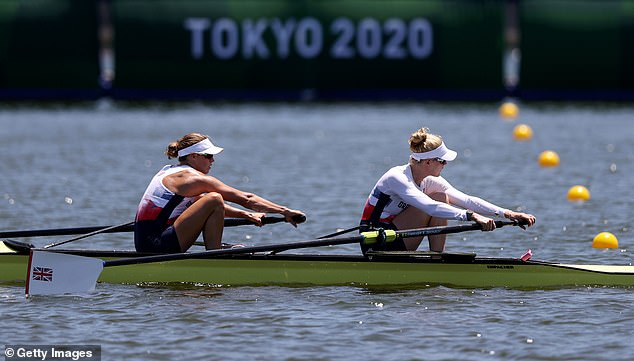 It will be quite the story if Helen Glover (L) wins gold with Polly Swann in the women's pair