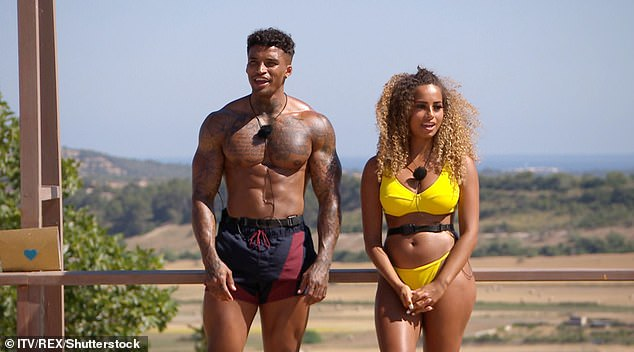 Awkward: In past series it has caused huge drama such as when Amber Gill was left single when her partner Michael Griffiths came back from the mini holiday with new girl Joanna Chimonides, leaving her heartbroken
