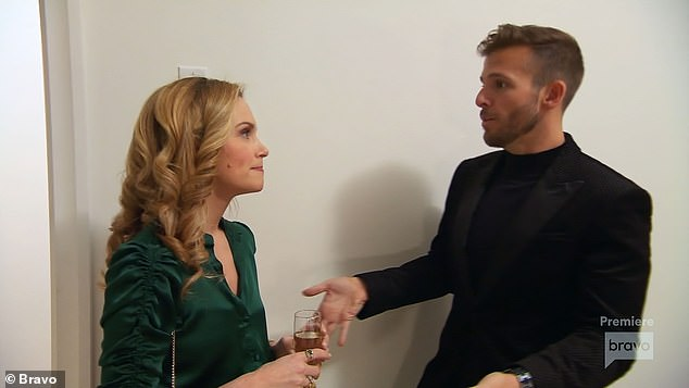 Conflict:One scene in particular that caused him to cringe involved fellow castmate Kirsten Jordan, as he recounted being 'nasty' to her while under the influence