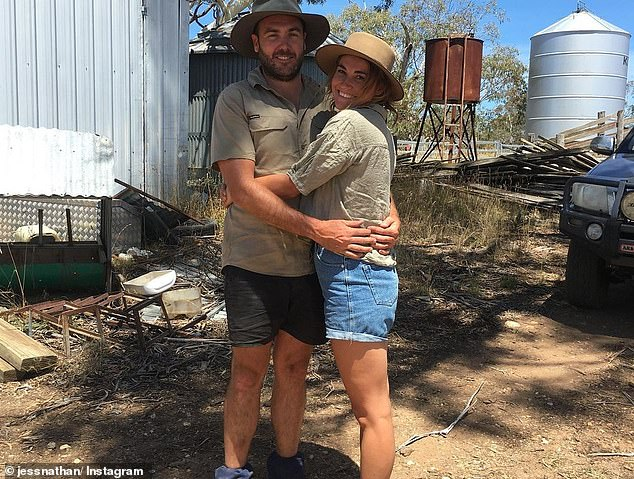 Claims: Earlier this week, FWAW stars Andrew Guthrie and Jess Nathan revealed what really went on behind the scenes, claiming they wanted to leave the series together early on after falling in love, but were denied